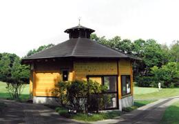 ゴルフ場東屋1